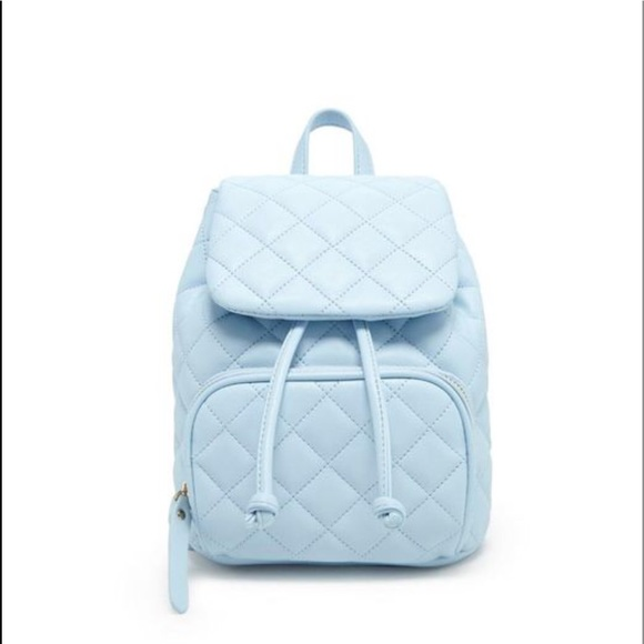 c8c9f5adc4 Forever 21 Faux Leather Quilted Mini Backpack